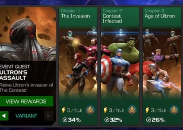 Variant #1: Ultron's Assault Easy Path for Completion