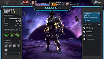 First 6-star Rank 3 – Sunspot