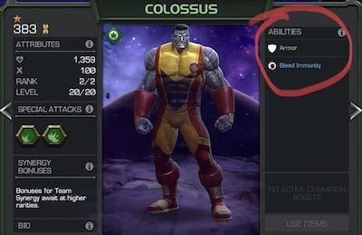 Did You Know: 1-Star Colossus Never got a Buff?
