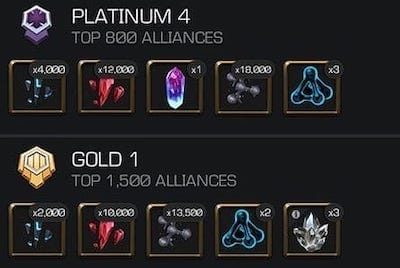 Alliance War Rewards Update (Season 15 & Onwards)