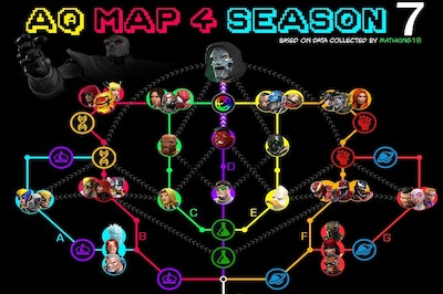 Alliance Quest Map 4 (AQ Map – Season 7)