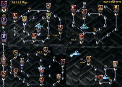 Story Quest Act 5.2.2 Map and Easy Path
